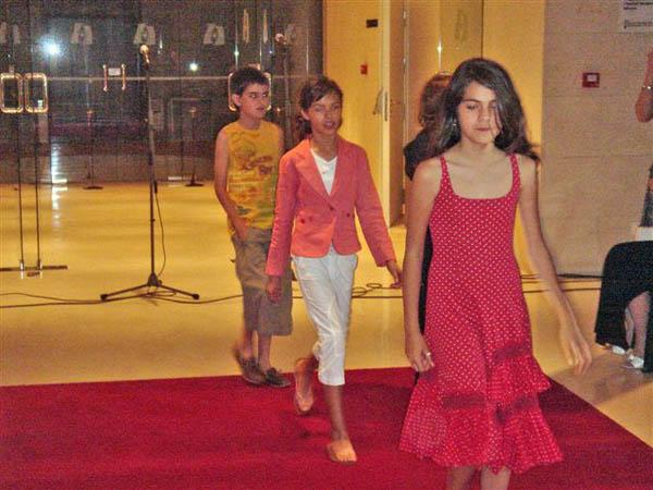Pasarela en el Teatro Serrano, junio 2006