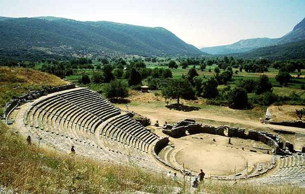 Teatro griego de Dodona