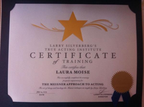 Título Meisner de Laura Moise