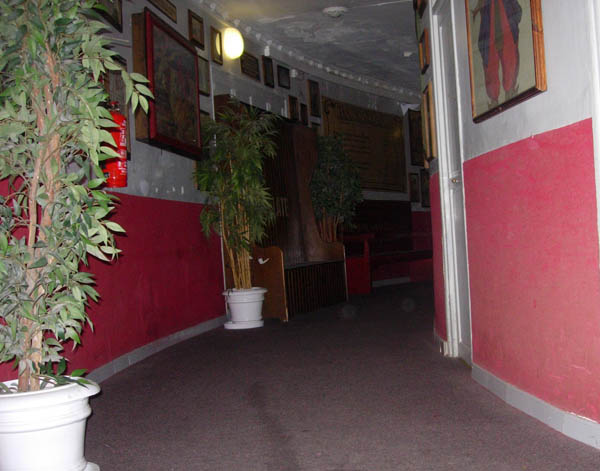 Interior del Teatro Cervantes