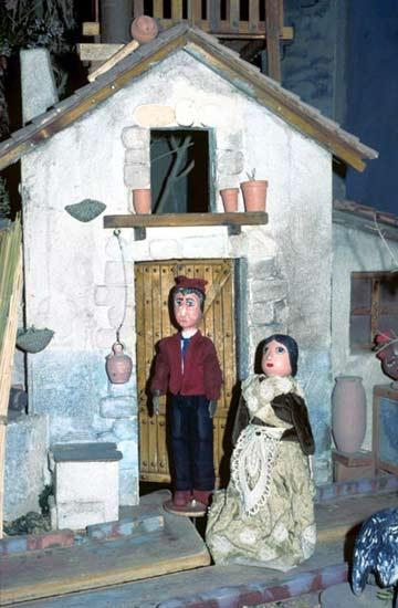 Tirisiti i Tereseta. Imagen del Tirisiti de la web www.betlemdetirisiti.com