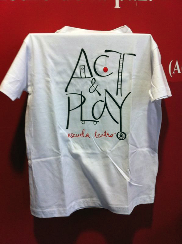 Camiseta escuela Act and Play